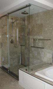 custom shower 22