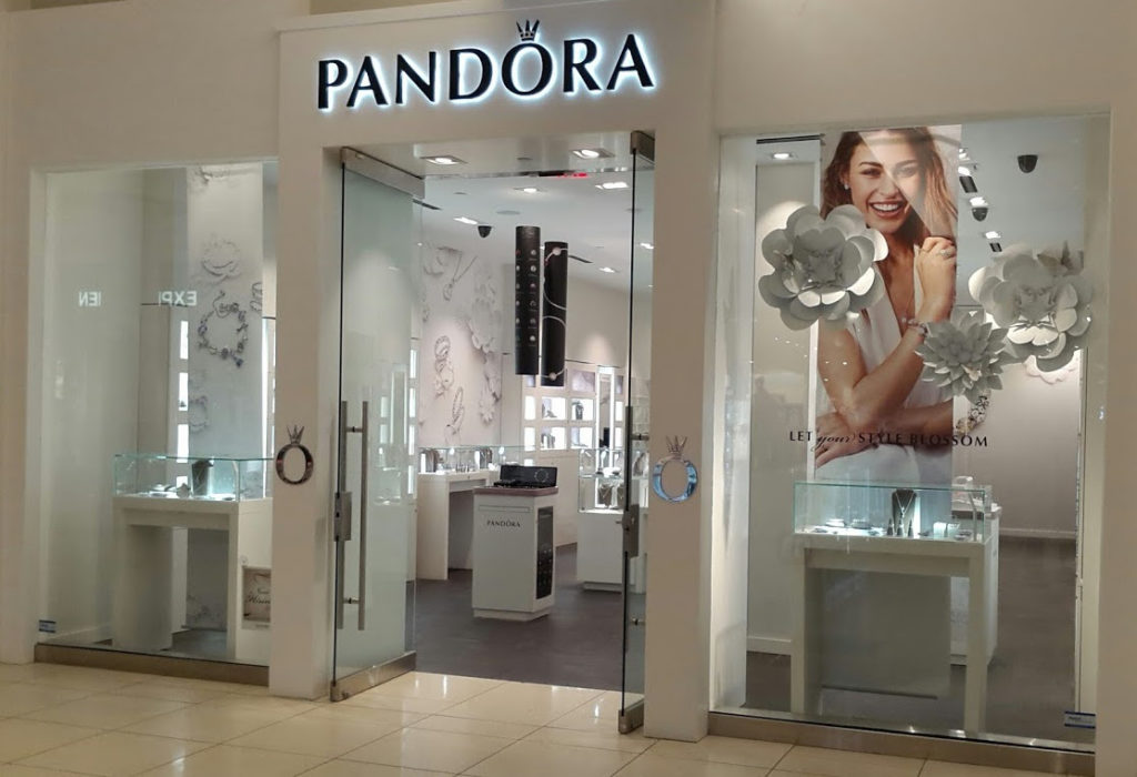 Glass Store Front Pandora