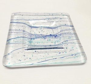 custom glass plate