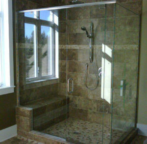 custom shower 10